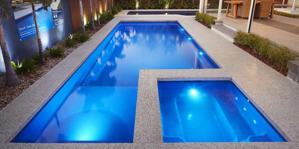 Brooklyn Fibreglass pool